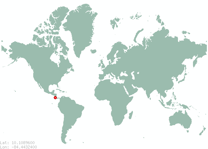 Chaparral World Map.Places In Costa Rica Find Information On All Places In Costa Rica